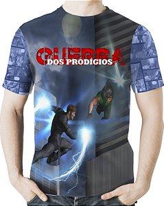 CADU ARTES - Guerra dos Prodígios - Camiseta de Heróis Brasileiros