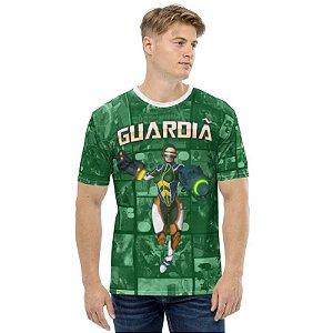 CADU ARTES - Fundação Amálgama Guardiã - Camiseta de Heróis Brasileiros