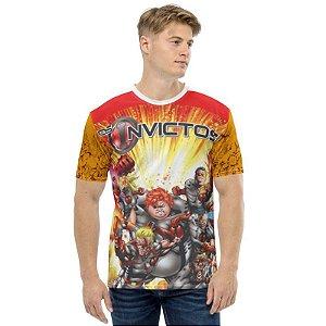 INVICTOS - Os Invictos - Camisetas de heróis Brasileiros