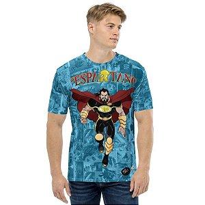 KAYRU - Espartano Avante - Camiseta de Quadrinhos Nacionais