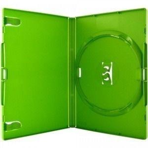 Estojo Capa Box Verde Para Dvd Xbox360 Filme Ou Cd Amaray 25 unidades