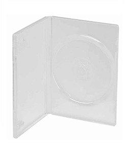 Estojo / Capa Dvd Box Amaray Transparente 50 Unidades
