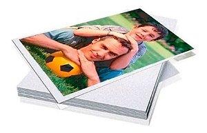 Papel Fotográfico A4 Glossy 230g 100 Folhas Premium Brilho