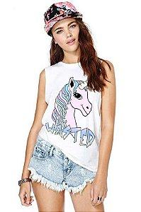 Moda Verão Camisas Lindas Sem Mangas Estampas Variadas - Tamanho único