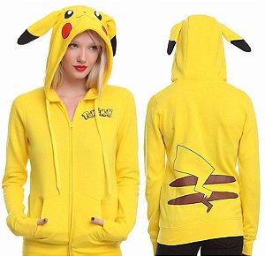 Blusa com Capuz do Pikachu
