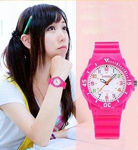 Relógio Colorido Reforçado - A prova de água - 7 cores