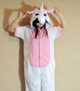 Exclusivo e Fofo Pijama de Unicórnio Verão - 2 cores -