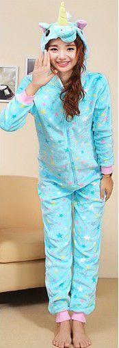 Lindo Pijama de Unicórnio Estrelado