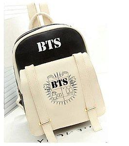 Mochilas Escolares em Nylon Estampa K-pop BTS - 5 cores