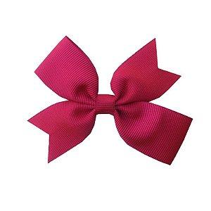Laço Catavento Simples Rosa Escuro - Catavento Simples - M