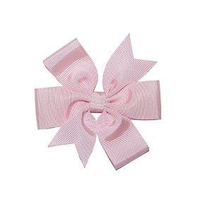 Laço de Cabelo Rosa Claro - M