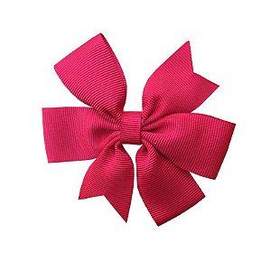 Laço de Cabelo Rosa Escuro - M