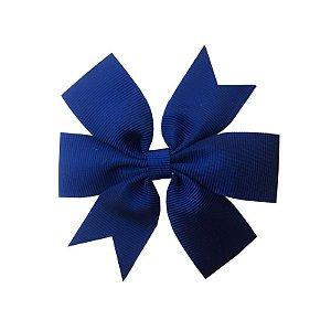 Laço de Cabelo Azul Marinho - M