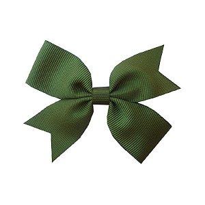Laço para Cabelo Verde Escuro - M