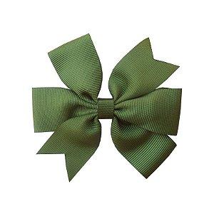 Laço de Cabelo Verde Escuro - M