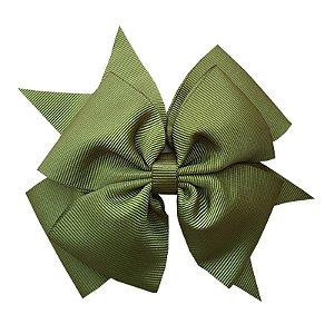 Laço Grande Verde Escuro - G