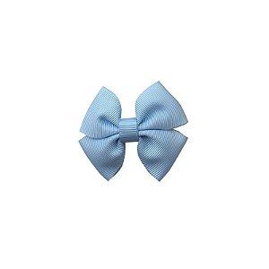 Laço Infantil Pequeno Azul Claro - P