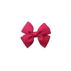 Laço Infantil Pequeno Rosa Escuro - P