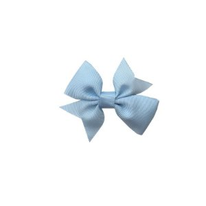 Laço para Cabelo Infantil Azul Claro - P