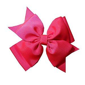 Laço Grande Rosa Pink - Sobreposto