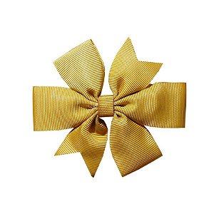 Laço de Cabelo Dourado - M