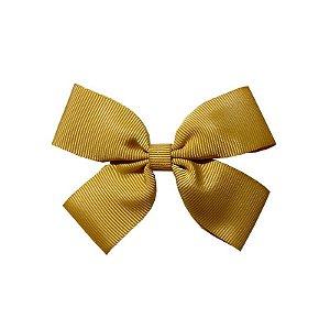 Laço Infantil Dourado - M
