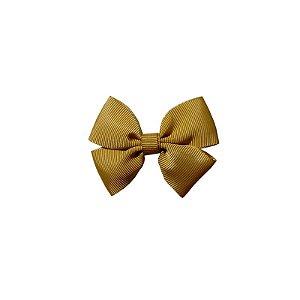Laço Infantil Pequeno Dourado - P