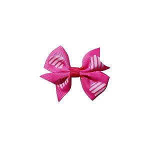 Laço para Cabelo Infantil Coração - P