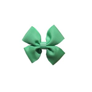 Laço Infantil Pequeno Verde Claro - P