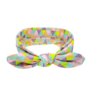Headband Infantil - Triângulo Colorido