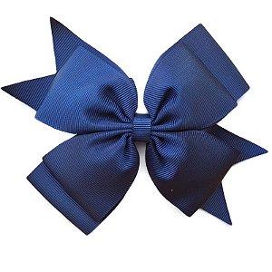 Laço Grande Azul Marinho - G