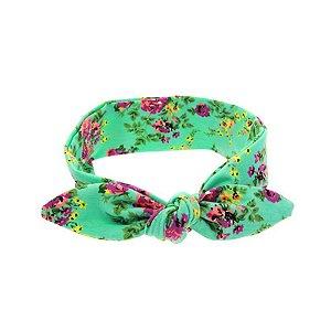 Headband Infantil - Florido Verde