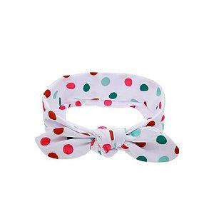 Headband Infantil - Poá Colorido