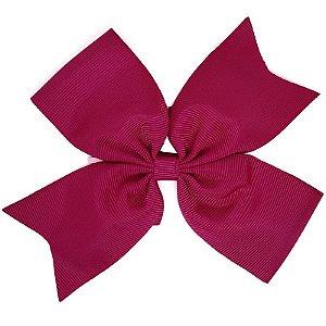 Laço de Gorgurão Rosa Escuro - G