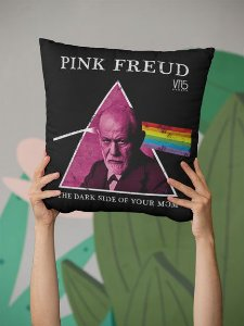 Capa Para Almofada Pink Freud
