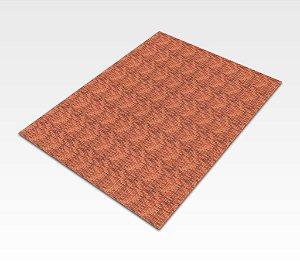 Folha adesiva com textura de tijolos HO