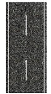 Adesivo via mão-única reta/curva HO (códs. 907 A 947)