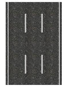 Adesivo via mão-única c/ 3 pistas (códs. 1007 A 1057)