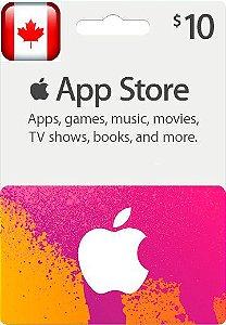 iTunes Gift Card $10 Canada - Cartão Itunes Canadense