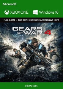 GEARS OF WAR 4 XBOX LIVE E WINDOWS 10 KEY GLOBAL