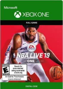 NBA LIVE 19: THE ONE EDITION XBOX LIVE KEY BRAZIL