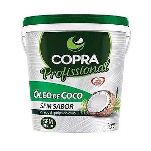 OLEO DE COCO SEM SABOR - BALDE 3,2L - COPRA