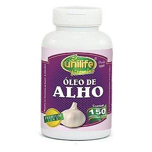 ÓLEO DE ALHO 150 CAP - 350MG - UNILIFE