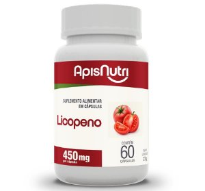 LICOPENO DE TOMATE - 60CP. 450MG - APISNUTRI
