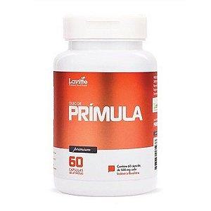 ÓLEO DE PRÍMULA - 60 CAP 500MG CAD - LAVITTE