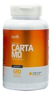 ÓLEO DE CÁRTAMO - 120CAP 1000MG - LAVITTE