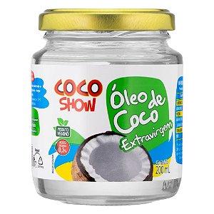 ÓLEO DE COCO EXTRA VIRGEM  - 200ML - COCO SHOW
