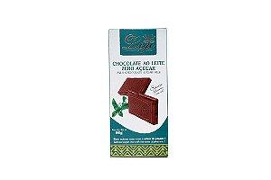 CHOCOLATE AO LEITE S/AÇÚCAR - 80G - LIÈGE