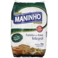 FARINHA DE ARROZ INTEGRAL MANINHO - 1KG