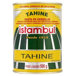 TAHINE ISTAMBUL - PASTA DE GERGELIM - 500G